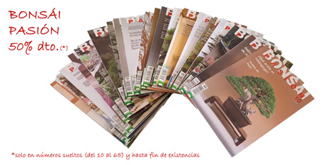 Oferta revista Bonsai Pasion