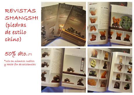 Ofertas revista de shangshi - suiseki